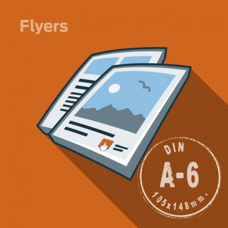 Flyers A6 90 Grs./Offset