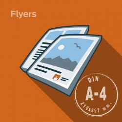 Flyers A4 90 Grs./Offset