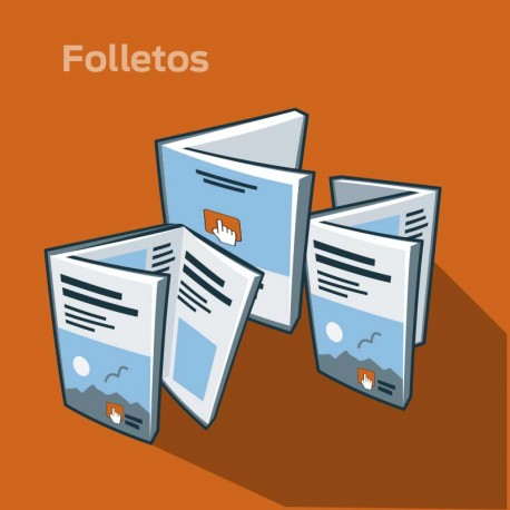 Folleto DL 135 Grs./Estucado